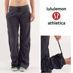 EUC Lululemon Studio Pants Coal Gray Size 10